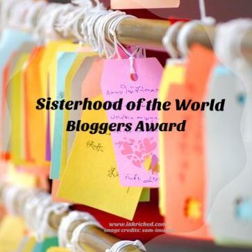 sisterhood of the world bloggers - inkriched.com