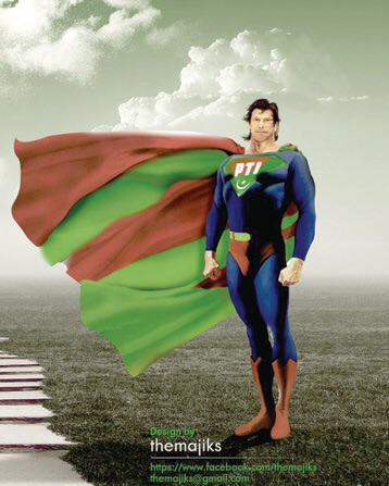 Imran Khan - image credits theMajiks